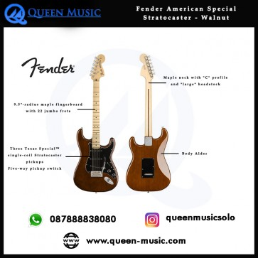 Fender American Special Stratocaster Walnut