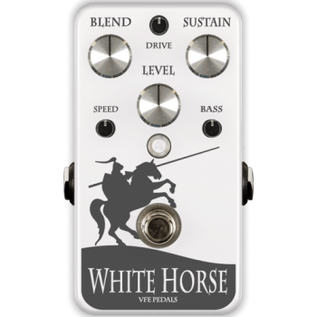 VFE Pedals White Horse Optical Compressor