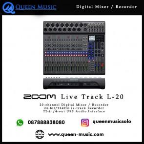 Zoom LiveTrak L-20
