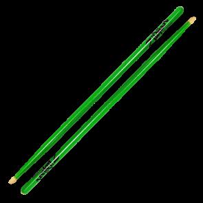 Zildjian Acorn Tip Neon Green Drumsticks  5A