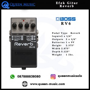 Boss RV-6 Digital Reverb