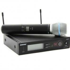 Shure SLX24A/Beta87 Handheld Wireles