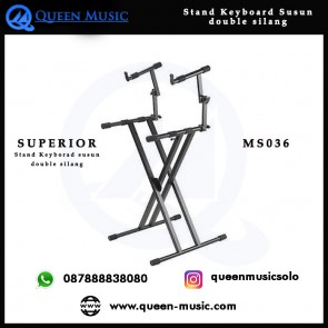 Stand Keyboard Double Tingkat Superior MS036